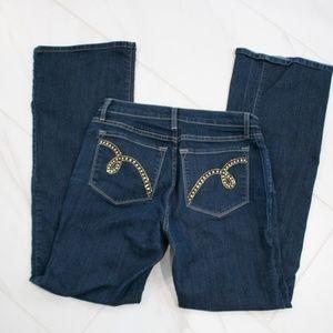 NYDJ | Bedazzled Pocket Bootcut Denim Jeans